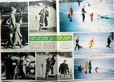 KARIM AGA KHAN / BEGUM SALIMA => 2 pages 1975  Spanish CLIPPING