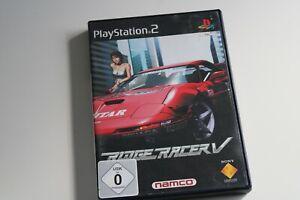 Ridge Racer V (Sony PlayStation 2, 2000, DVD-Box)