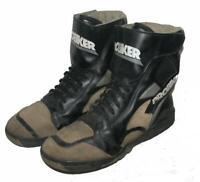 """"""" PROBIKER """" Motorradstiefel / Schnür- Stiefel / Boots in schwarz- grau ca. 45"""
