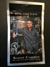 Titleist Scotty Cameron Oil Cloth With Putter Care Instructions