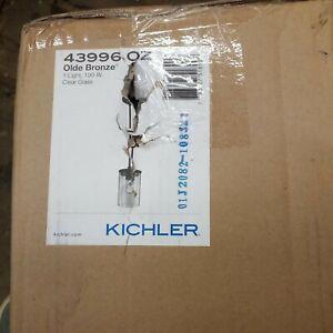 Kichler Lighting-43996OZ-Crosby - One Light Mini Pendant  Olde Bronze Finish