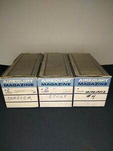 Airequipt Automatic Slide Changer Magazines Lot Of 3