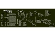 PISTOLA Pulizia armaiolo Bench Tappetino bytekmat od AR15 M16 M4 Armalite FUCILE diagramma
