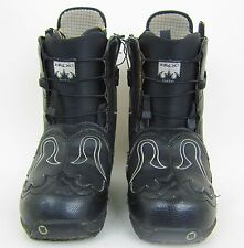 Burton Iroc Women'S Snowboard Boots – Size: 9 – Color: Black – Used!