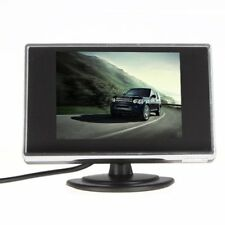 3.5 in (approx. 8.89 cm) TFT LCD Coche Cámara De Visión Trasera Monitor de color Auto Dvd Vcr Video entrada UK