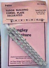 3 TUDOR bâtiment Corbel strips-decorated échelle OO non peint pièce p40a