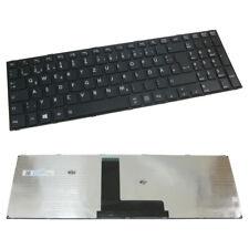 Orig Tastatur QWERTZ Deutsch Rahmen für Toshiba Satellite C50D-B-134 C50D-B-00K