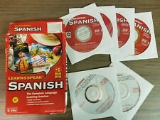 Learn to Speak Spanish Computer Cds