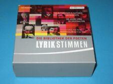 Lyrikstimmen: Die Bibliothek der Poeten, 122 Autorinnen & Autoren - 9 CD-Box