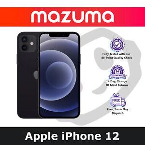 Apple iPhone 12 - 64GB - 256GB - 512GB - Black/White/Blue/Green/Red