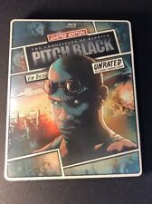 Chronicles of Riddick Pitch Black [ Limited STEELBOOK ] (Blu-ray Disc) NEW