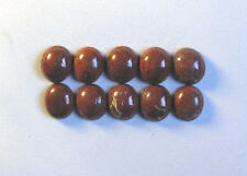 Brecciated Jasper Cabochon Collection, 12mm x 10mm, 41.20cts, Ref BG-E1