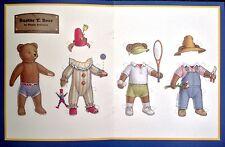 Buster T. Bear Paper Doll, By Ginnie Hofmann, A Doll Magazine Pd