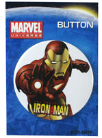 Marvel Comics Invincible Iron Man Pin 3-Inch Pin Back Button Avengers New