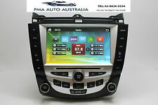 HONDA ACCORD/EURO 03-08 7TH GEN GPS/DVD SYSTEM + FREE AUSTRALIA MAP BLUETOOTH