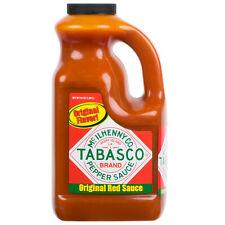 TABASCO 64 oz Original Hot Sauce 1/2 Gal. (select quantity)