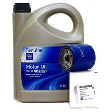 Original Opel GM 5W-30 Dexos 1 Gen2 Öl Motoröl 5 Liter 5W30 + Ölfilter 55499629