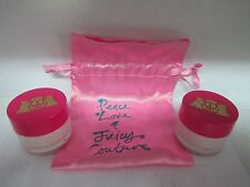 Peace Love & Juicy Couture Mini Gift Set: 2 Mini Body Creams For Women