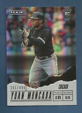2017 FATHERS DAY WHITE SOX YOAN MONCADA ROOKIE CARD #67 (#181/499)