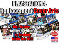 PlayStation 4 Replacement Game Cover Arts Box Arts (No Game Disc No Case) USB