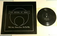 "Sisters Of Mercy 12"" Vinyl EP + Flexi-Disc: WALK AWAY. Rare 1984 Limited Edition"