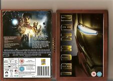 MARVEL IRON MAN DVD STEELBOOK VERSION STEEL BOOK