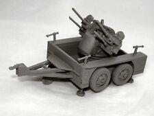 SGTS MESS GN01 1/72 Diecast WWII US Quad 50cal Anti-Air Gun on M55 Trailer