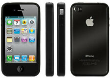 Griffin iPhone 4 iPhone 4s Reveal Clear Hard Shell Snap Case w/Black Bumper Edge