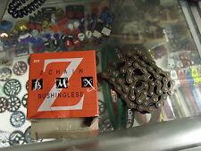 "KMC Z410 1/2"" X 1/8""--112L BMX FIXED CRUISER SINGLE SPEED BROWN BIKE CHAIN"