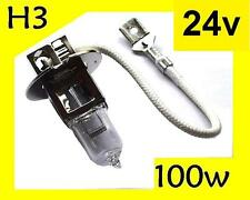 High Power 100W Bulb H3 Halogen 24v lorry truck lamp