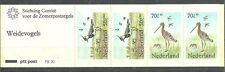 NIEDERLANDE/ Vögel MiNr 1246+1249 C/D ** im MH 31 (PB 30)