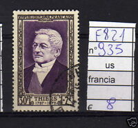 FRANCOBOLLI FRANCIA USATI N°935 (F821)