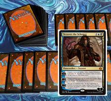 mtg BLACK BLUE ARTIFACTS DECK Magic the Gathering rares 60 cards tezzeret KAL
