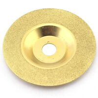 """4""""  100mm Grit 150 Diamond coated grinding disc wheel convex For Angle Grinder"""