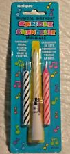 """NEW Musical Birthday Candle by Unique 3"""" Reusable Base - FREE SHIPPING"""