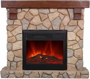 Elektrokamin Dekokamin Kamin Ofen Heizer m FB von El Fuego Modell Villach AY623