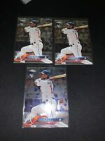 OZZIE ALBIES 2018 Topps CHROME Update Series RC #HMT27 Braves ROOKIE! SP