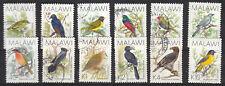 Malawi 1988 Birds part set fine used