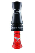 FIELD PROVEN CALLS SINGLE SHOT POLY DUCK CALL BLACK / RED NEW!!