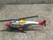 2000 Matchbox Sky Busters SMOKEY BEAR Helicopter