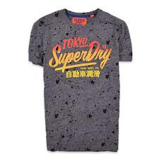 Superdry Herren T-Shirt Shirt Classic Gr.M Surf Mehrfarbig, 70095