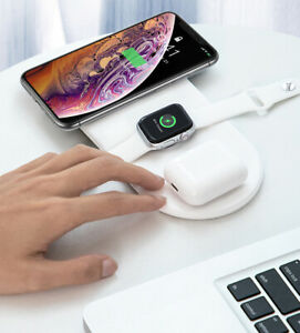 Baseus 18W Wireless Charger For iPhone / Samsung Full load 3 in 1 (Original)