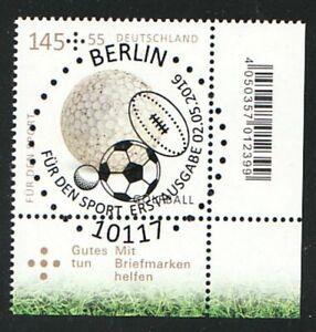 Germany Vintage 2016 Sports Aid Golf Edge Maximum Value Mi 3237 Esst Berlin