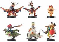 Monster Hunter amiibo Stories set of 6 Game Nintendo 3DS Wii U tested complete