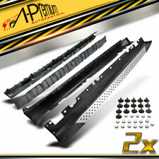 A-Premium Aluminium Side Steps Running Boards Brackets for BMW X5 E70 2008-2012