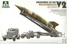 Takom 1/72 Hanomag SS100, Meillerwagen & V2 Rocket