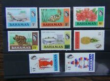 Bahamas 1978 values to $3 SG518 - SG525 LMM