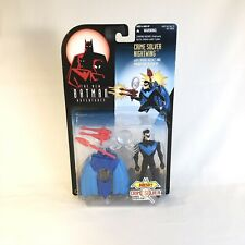 Vintage Crime Solver Nightwing 1997 Batman Adventures Kenner DC WB Action Figure