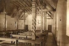 Carte SEGNY Sanctuaire de Notre Dame route Blanche Colonnes en bois sculpté