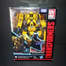 Transformers Studio Series 41 CONSTRUCTICON SCRAPMETAL Deluxe Devastator